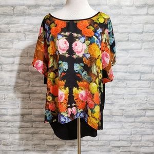 Torrid floral high/low top